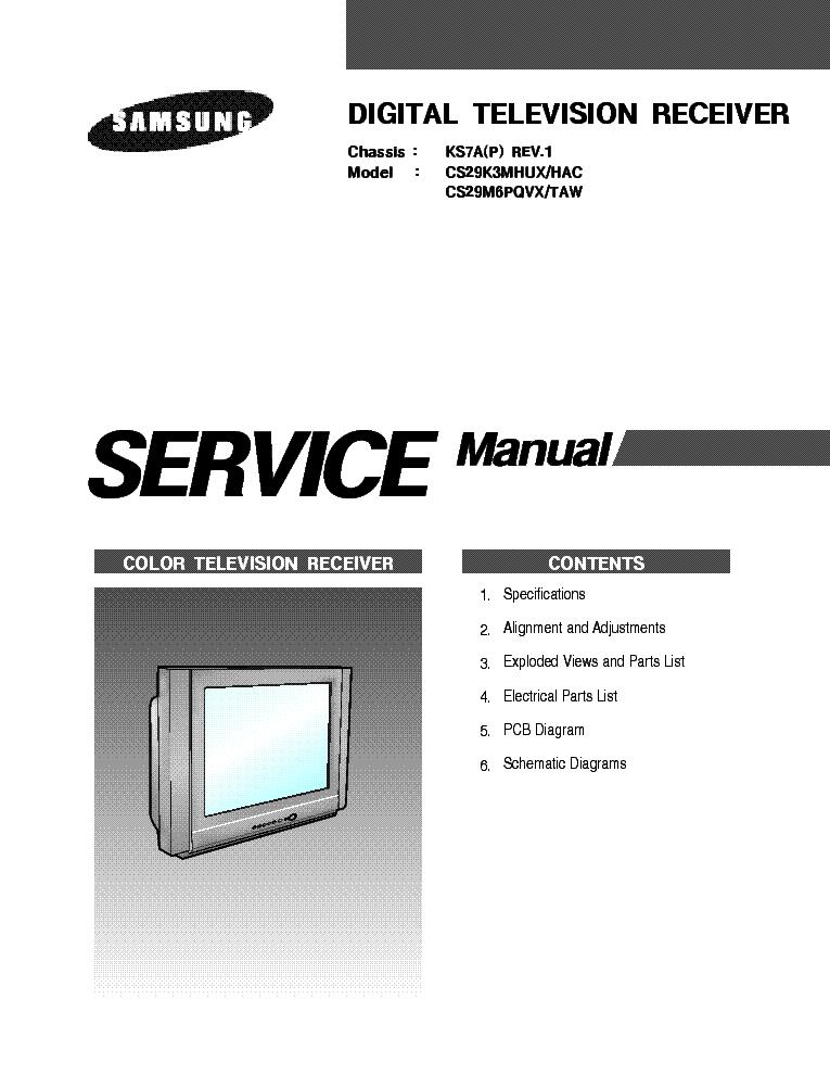 SAMSUNG CS29K3MHUX-HAC