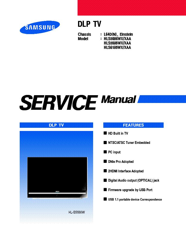 samsung hls5086w service manual download schematics eeprom repair rh elektrotanya com