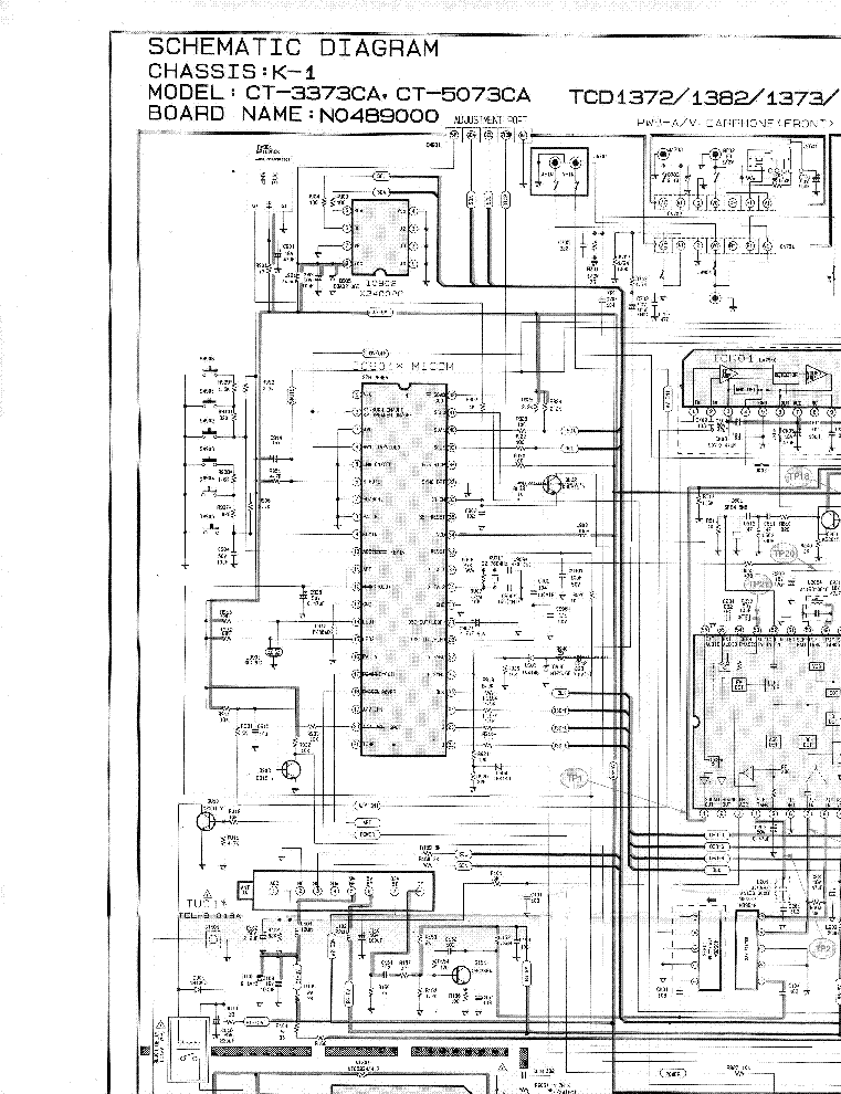 samsung schematic diagram samsung samsung k1 chassis ct3373ca tv d service manual on samsung schematic diagram