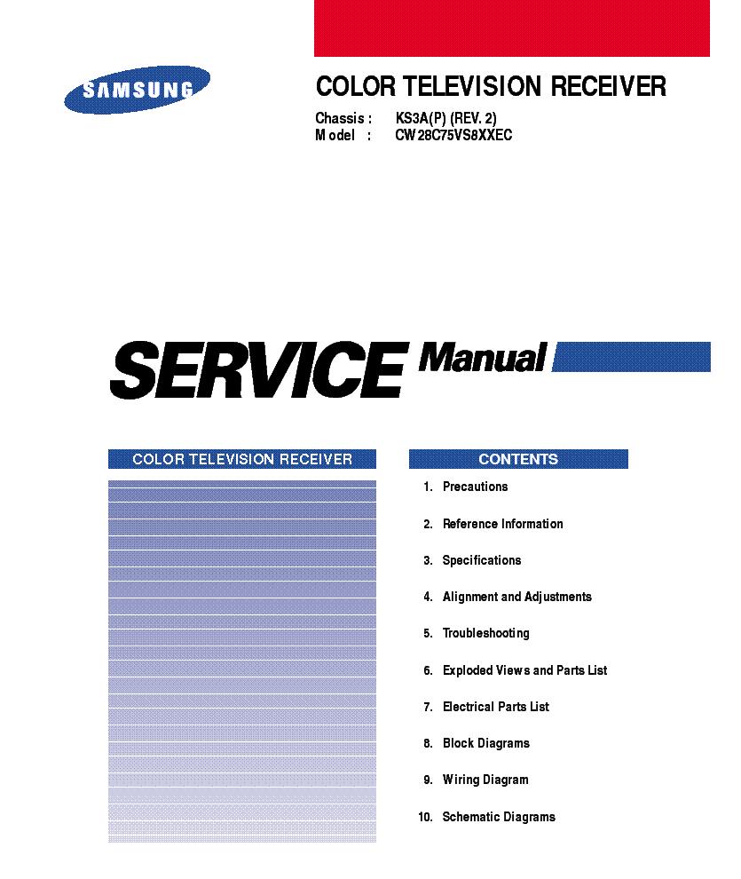 инструкция для тв самсунг ck5373z