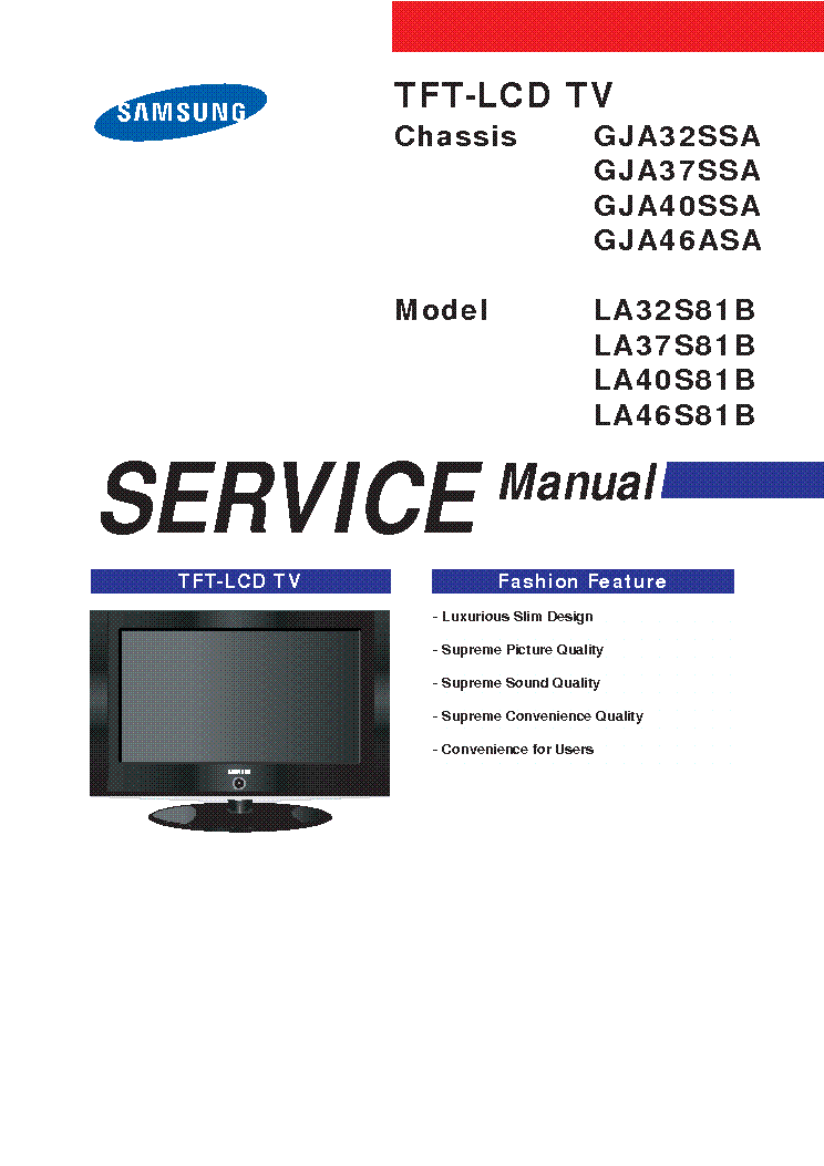 samsung chassis s62a sm2 service manual download schematics eeprom rh elektrotanya com manual tv lcd samsung 32 user manual samsung 32 lcd tv