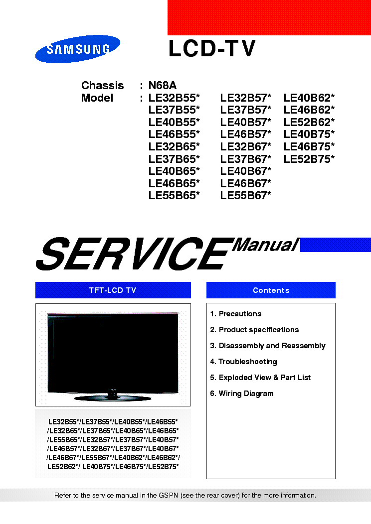 samsung sp43r1hl1x ch j60b service manual download schematics rh elektrotanya com Samsung Owner's Manual Samsung Parts List