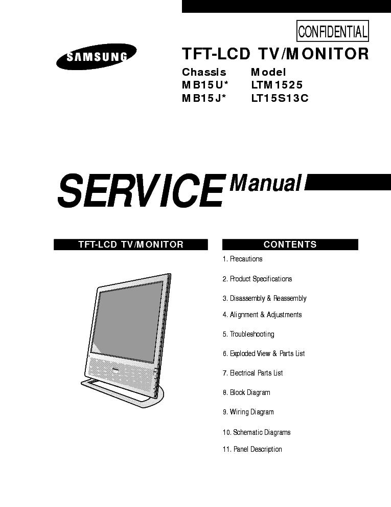 Samsung Ltm1525 Lt15s13c