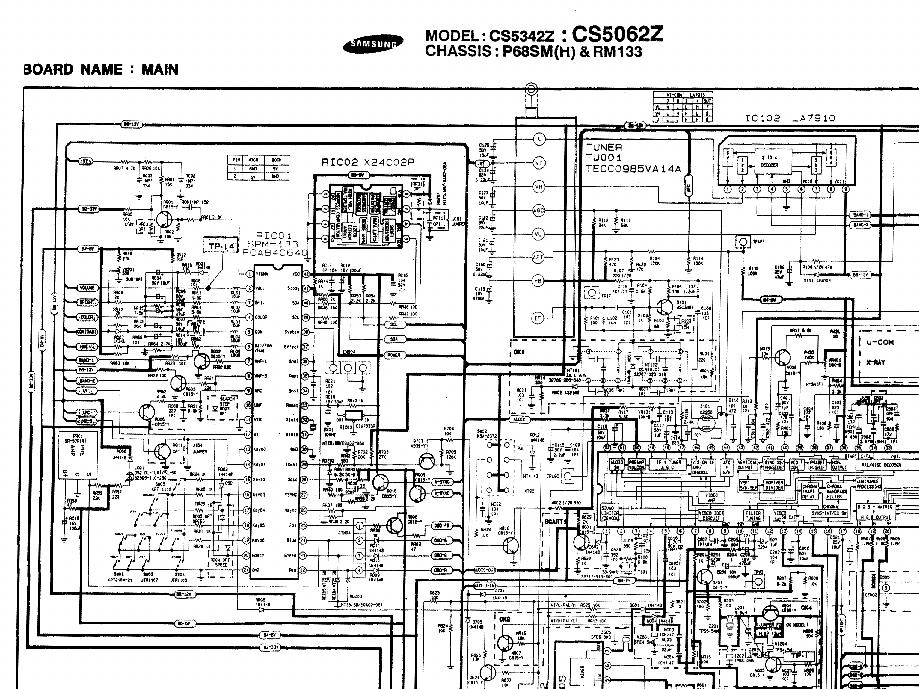 SAMSUNG P68SM CHASSIS CS5342