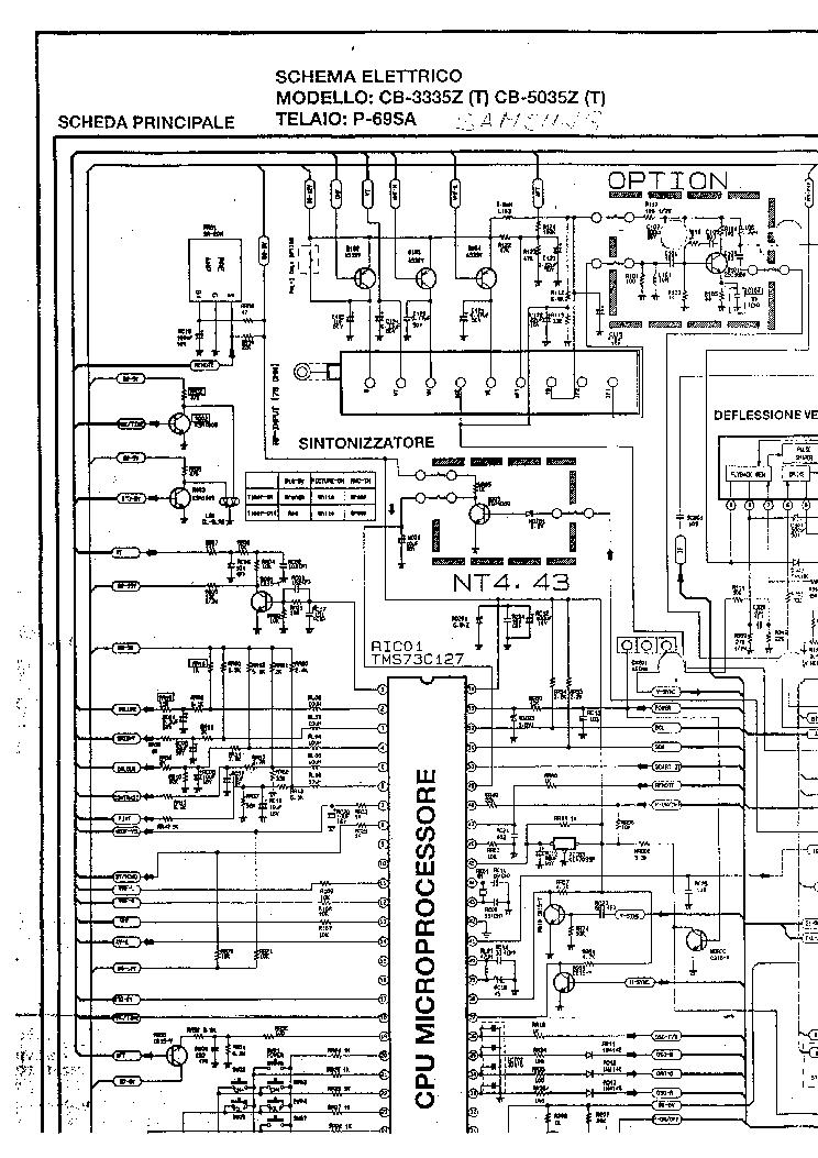 samsung p69sa chassis cb3335z tv d service manual download
