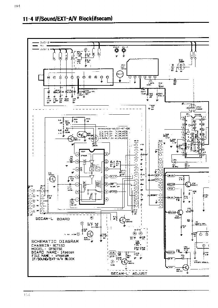 схема телевизора samsung sct11d шасси аа41 10657а