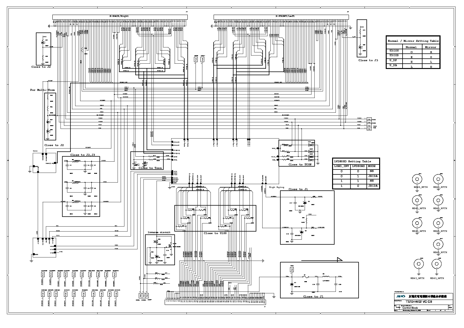 T Con Board Circuit Diagram Wiring Library Samsung T370hw02 Vc Bn07 00643a Sch Service Manual