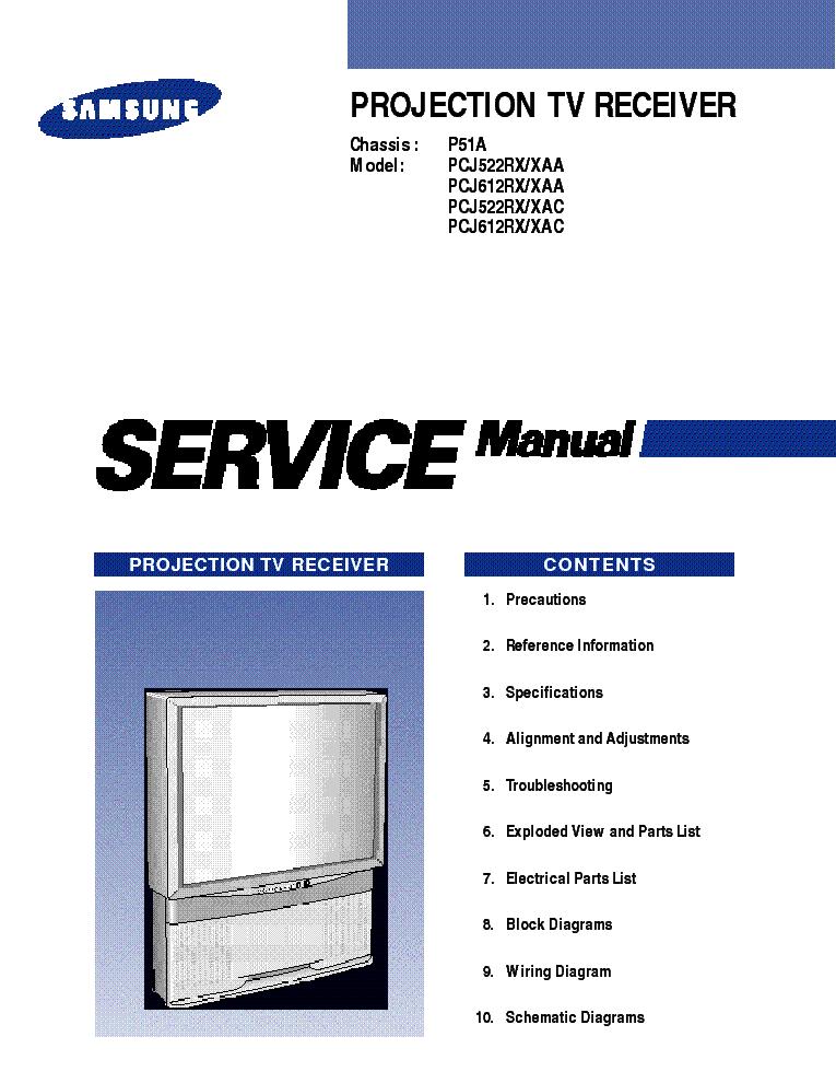 Samsung Tv Pck520r Service Manual Download  Schematics