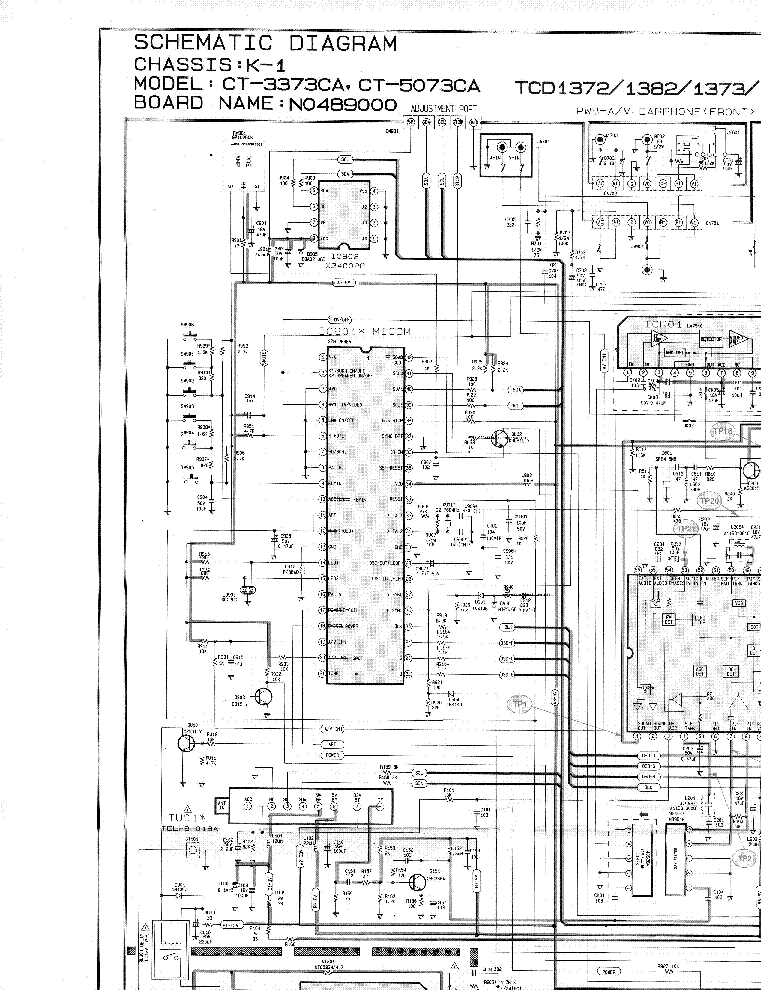 Led Tv Wiring Diagram