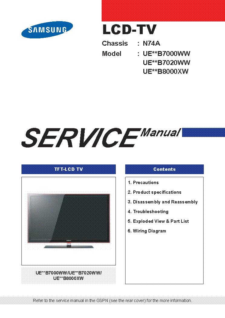 hlt5076sx service manual