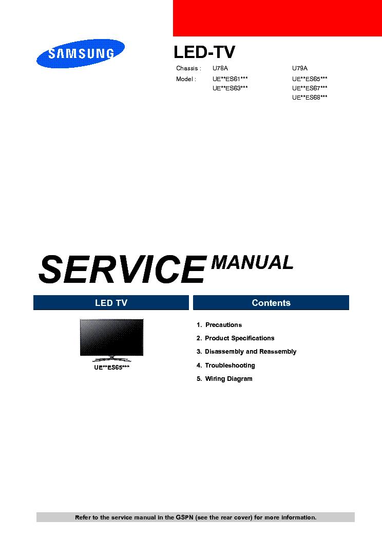 Samsung ue40es5500 инструкция