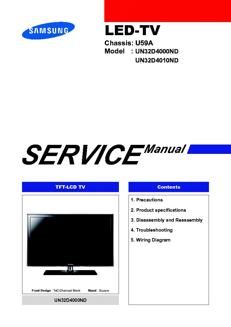 samsung le 32r86bd bn44 00191a sch service manual download rh elektrotanya com samsung un46d6000 service manual samsung tv un46d6000 manual