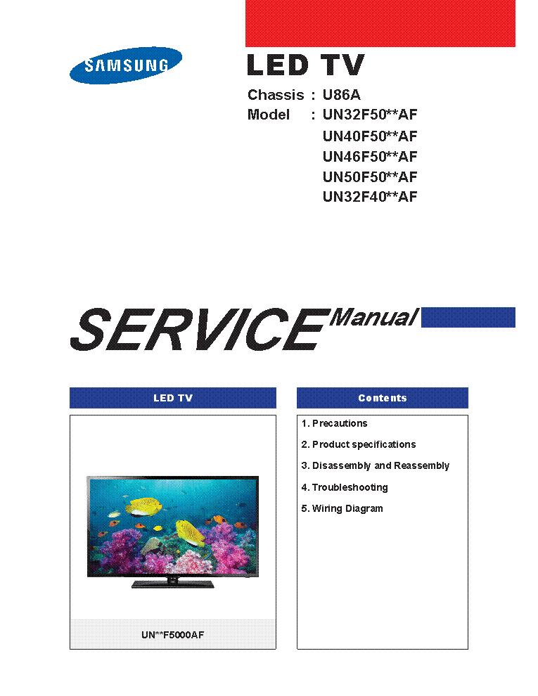 Samsung e-manual 5500