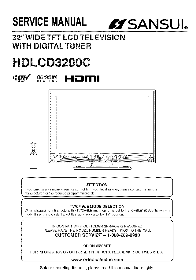 sansui hdlcd3200c sm service manual download schematics eeprom rh elektrotanya com