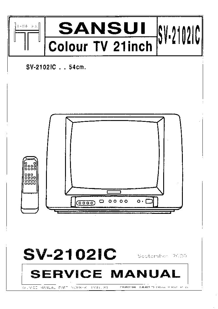 sansui sv 2102ic sm service manual download schematics eeprom rh elektrotanya com
