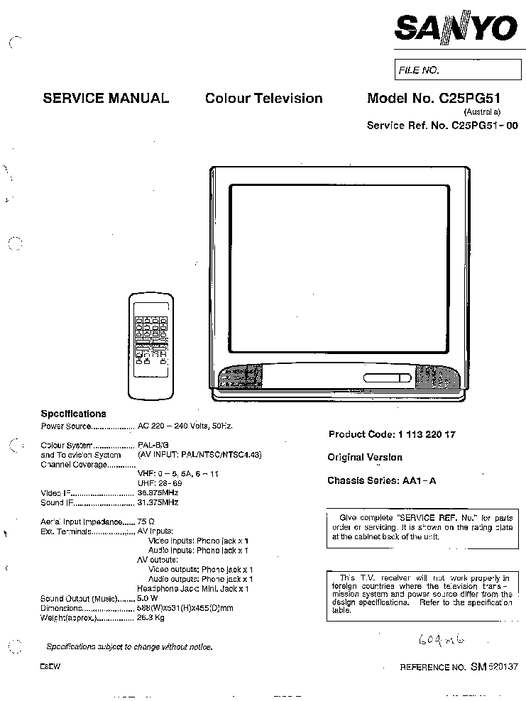 sanyo ds24425 service manual download schematics eeprom repair rh elektrotanya com Appliance Repair Service Manuals Service Repair Manuals Online