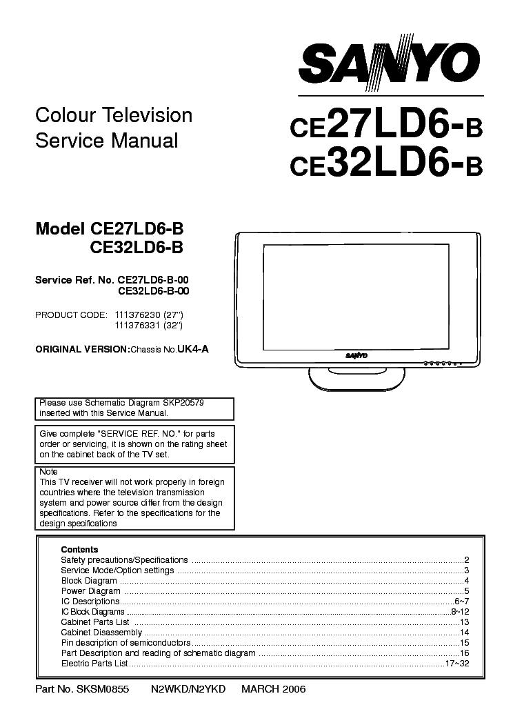 Sanyo Rm-5020 Service Manual Free