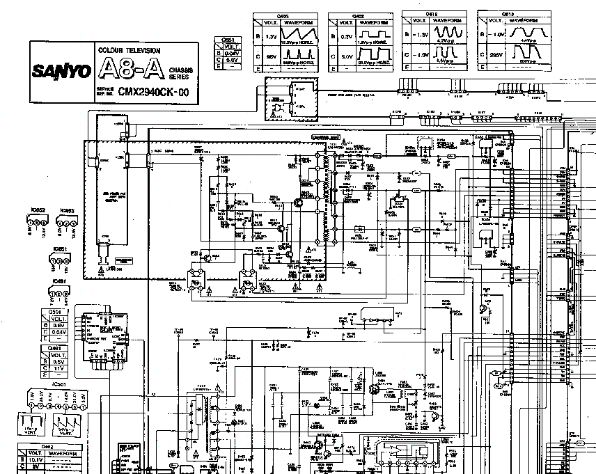 Мануал на устройство SHARP 14B-E.