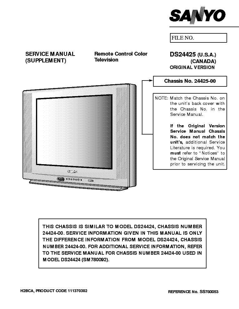 sanyo ds24425 service manual download schematics eeprom repair rh elektrotanya com Manufacturers Auto Repair Service Manuals Manufacturers Auto Repair Service Manuals