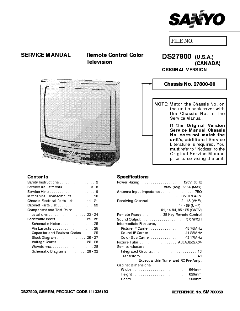 Ds27800 Manual