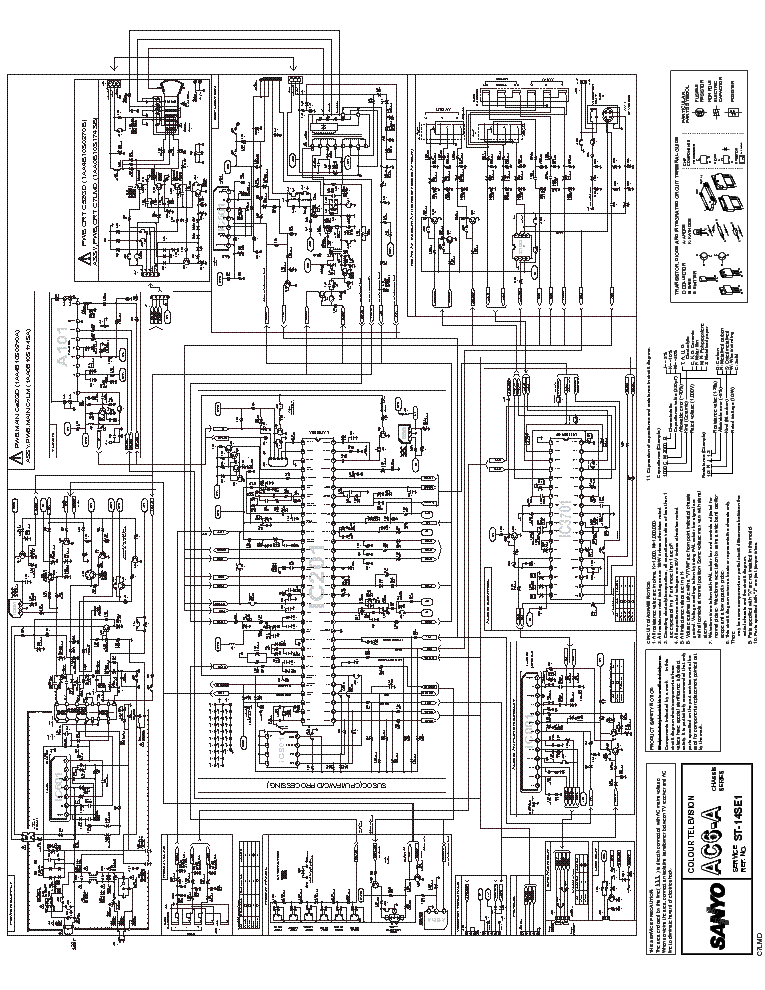 Sanyo St14se1 Schematic Service Manual Download Schematics Eeprom Rhelektrotanya: Tv Schematic Diagram At Gmaili.net