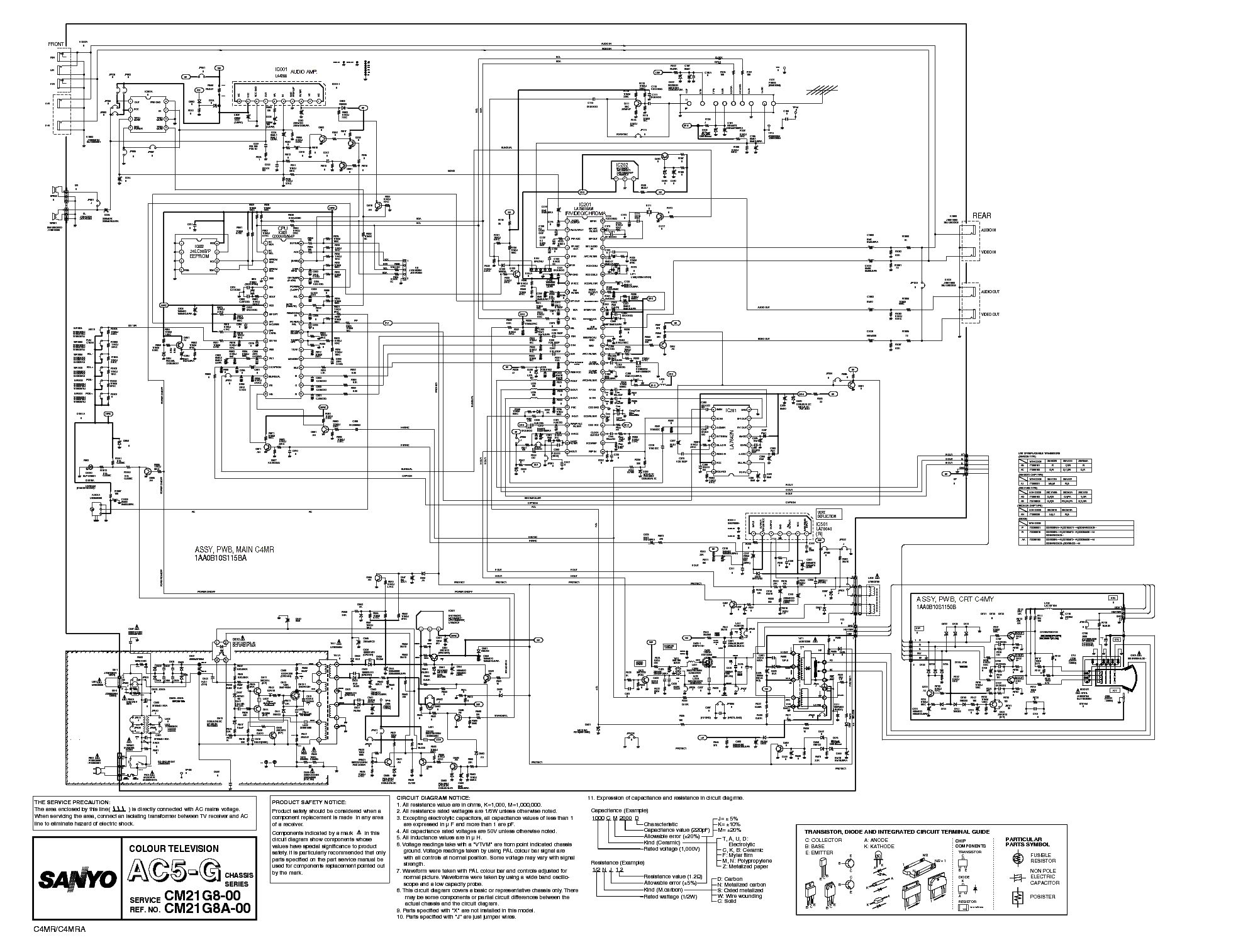 Sanyo Wiring Diagram And Schematics T V Circuit Tv Radio U2022 Rh Augmently Co Free Schematic