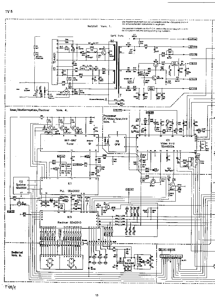 Schneider Chassis Tv51 Schematic Diagram Service Manual Download Rhelektrotanya: Tv Schematic Diagram At Gmaili.net