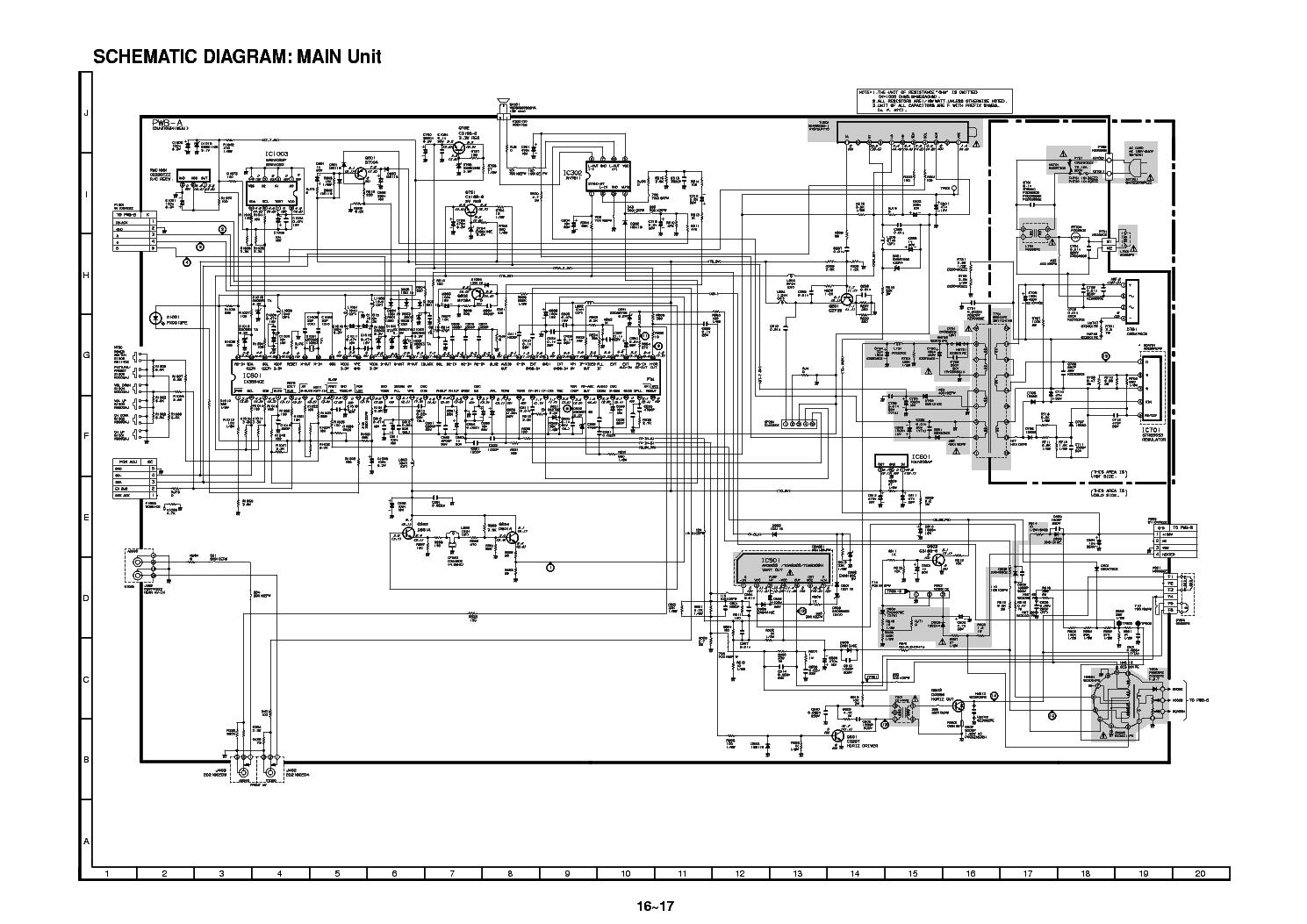 Sharp 14l sc схема фото 32