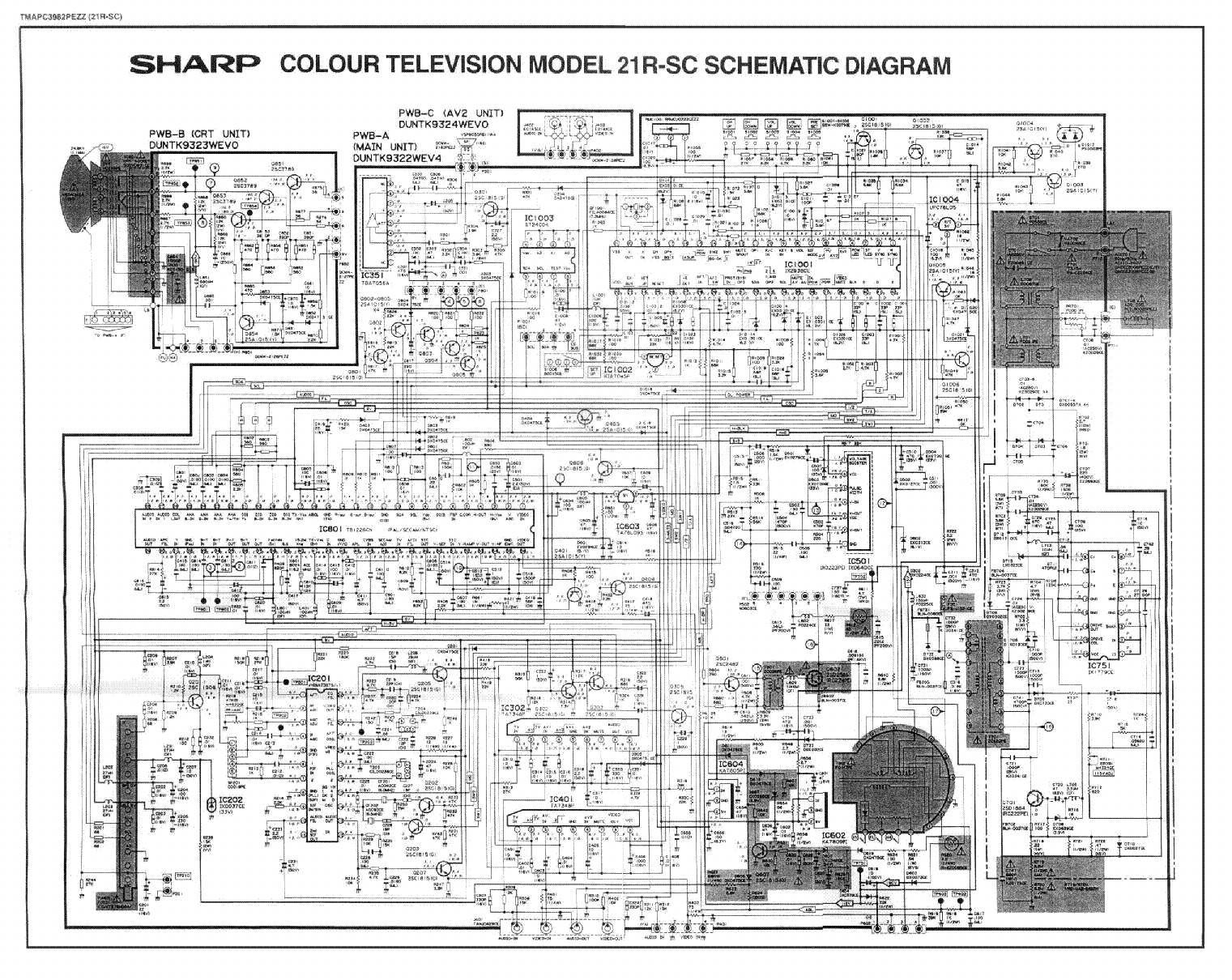 Sharp Tv Schematic Diagram For Sv Models Wire Data Schema Ef1000is Inverter Generator Wiring Click Image To Enlarge Circuit Diagrams Auto Electrical U2022 Rh Focusnews Co