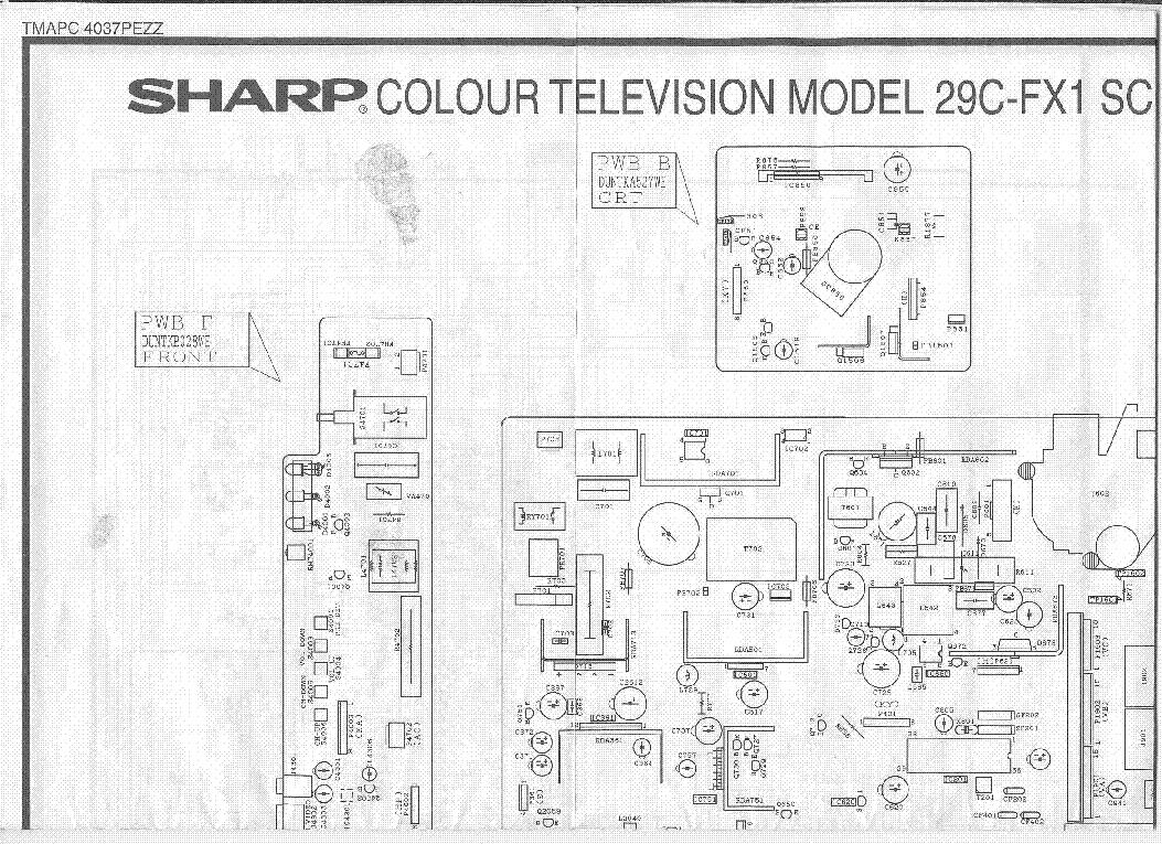 Sharp Tv Schematic Diagram Circuit 1 Powersupplycircuit Seekiccom 29c Fx1 Sch Service Manual Download Schematics Eeprom Rh Elektrotanya Com Westinghouse Lg