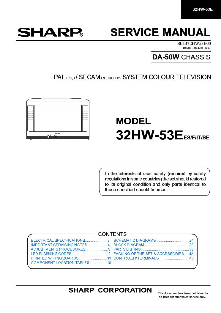 Sharp 32hw