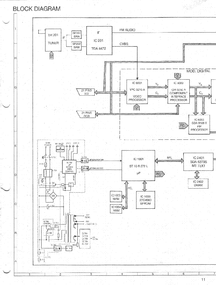 Sharp 70es 14s 1 Service Manual Download Schematics Eeprom Repair