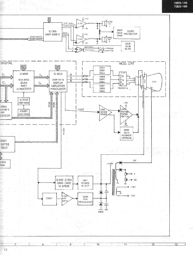 SHARP 70ES-14S-1 service manual (2nd page)