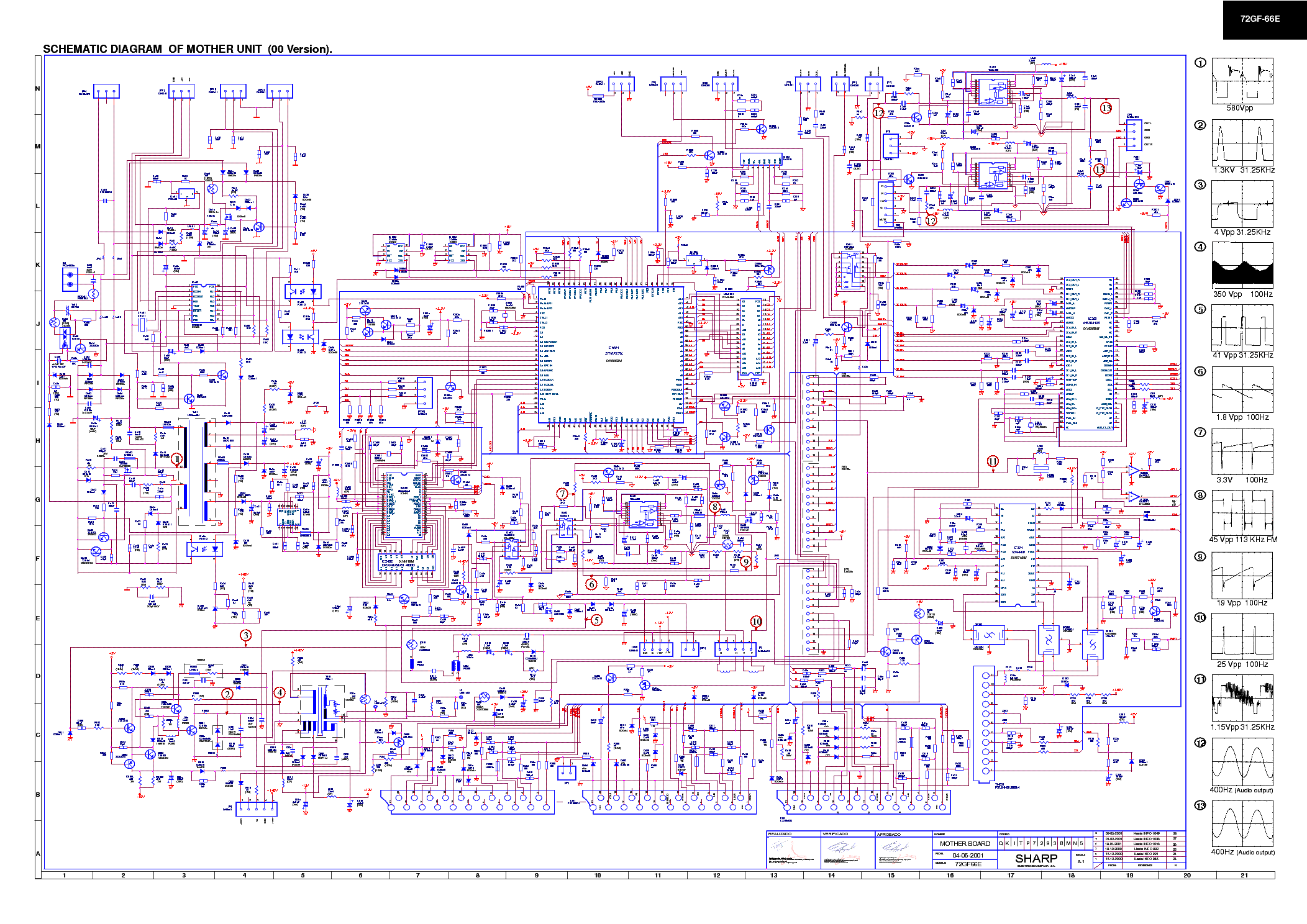 Схема блоков питания телевизора тошиба
