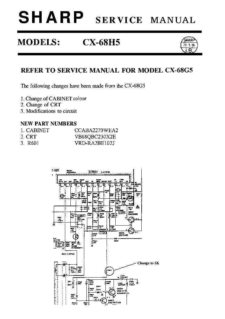 sharp lc 47sb57ut service manual repair guide
