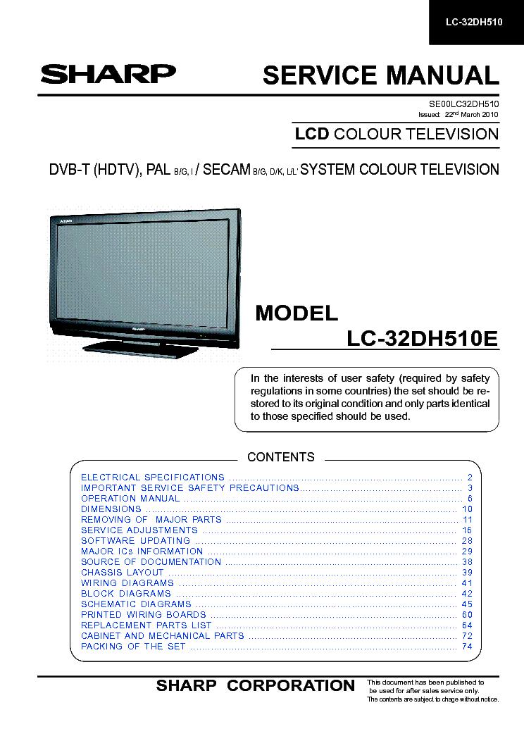 Sharp Lc