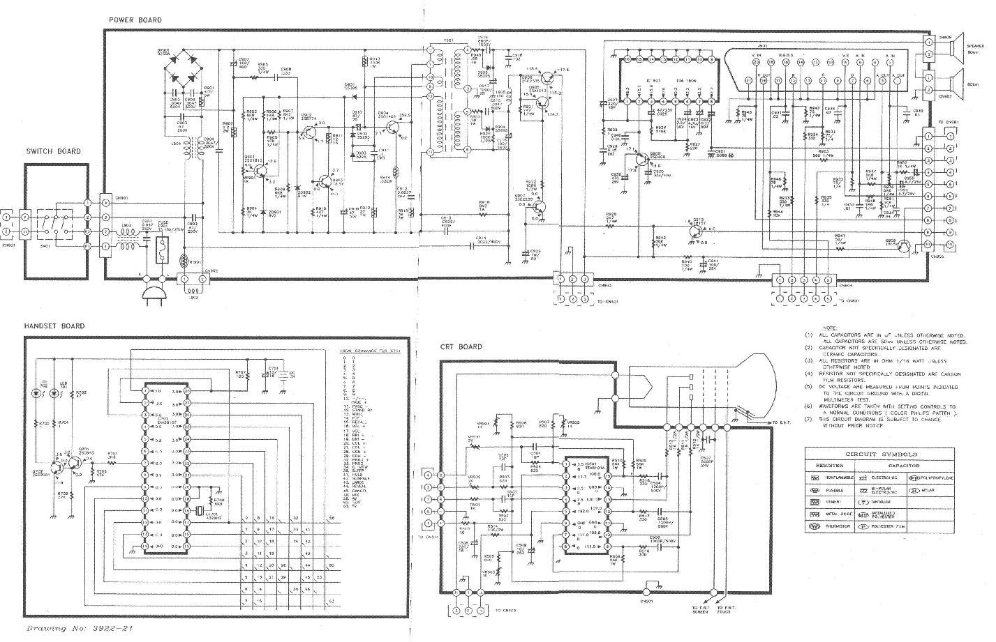 Skytronic Tv2130 Clatronic Ctv224 Sch Service Manual