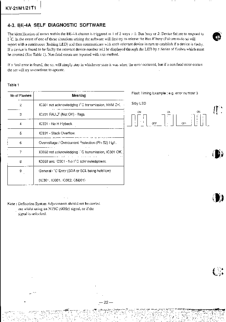 SONY BE-4A service manual (2nd page)