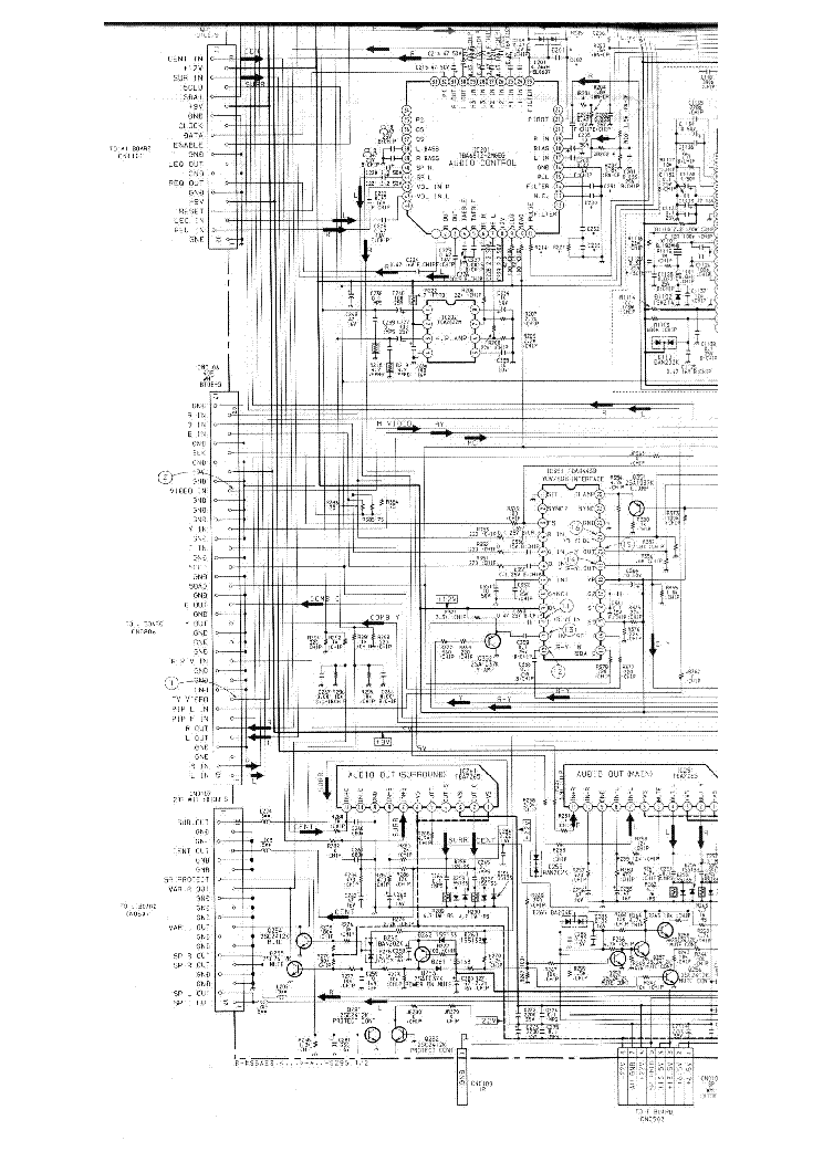 SONY CHASSIS AE3 SCH Service Manual free download, schematics ...