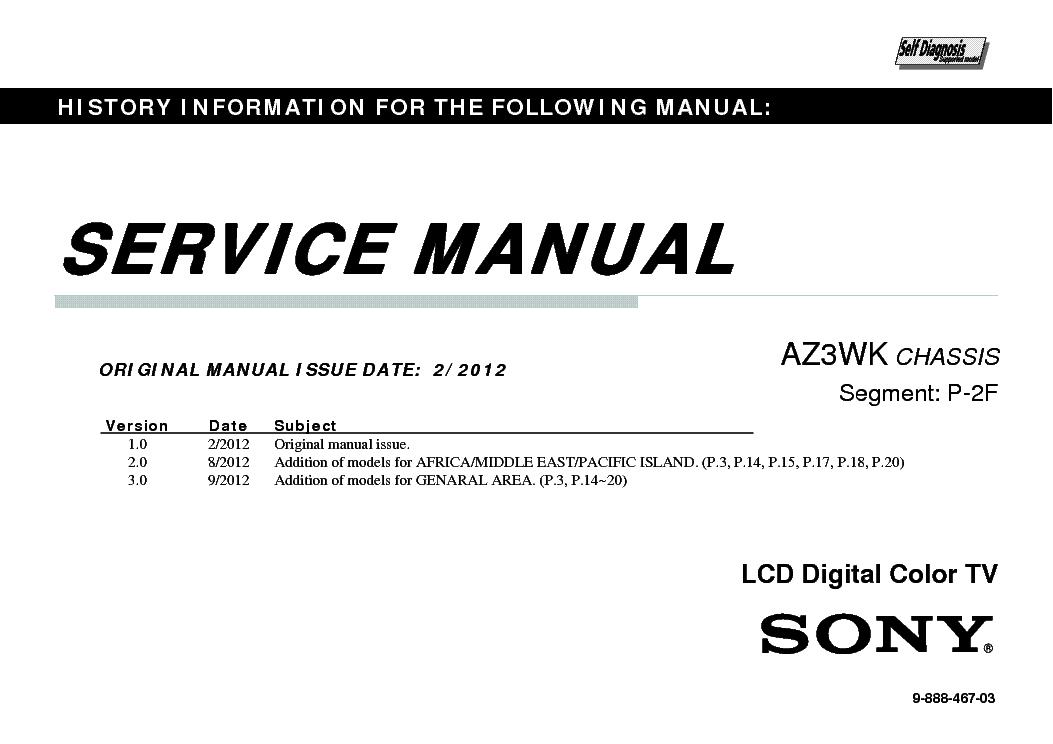 sony kdl 32bx350 kdl 40bx450 chassis az3wk service manual download rh elektrotanya com