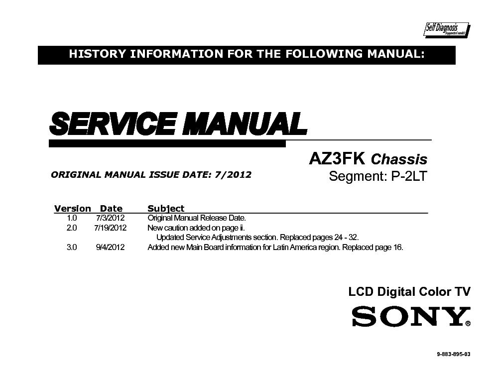 sony kdl 32ex340 kdl 42ex440 kdl 42ex441 chassis az3fk service rh elektrotanya com
