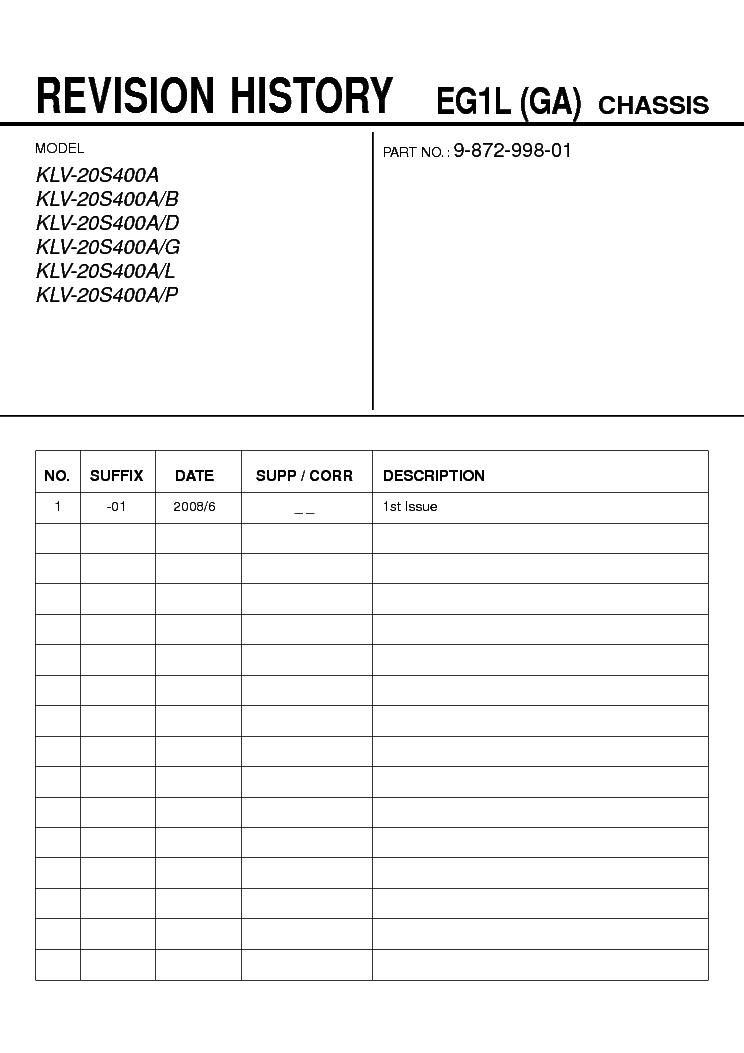 Klv 20s400a Manual