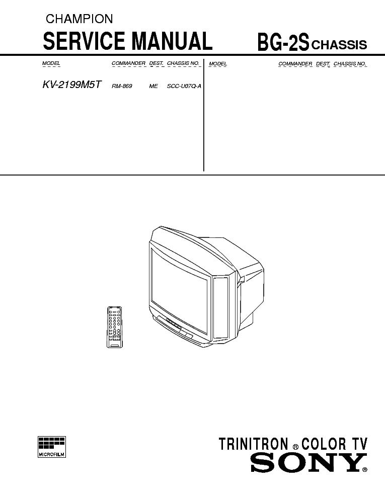 sony kv 2197m3 cxp85220a tda8375 str 6707 la7830 ta8248k service rh elektrotanya com Sony User Manuals Sony Operating Manuals