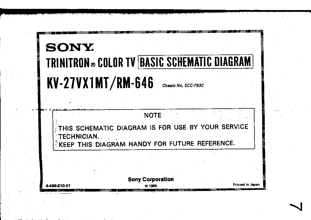 Sony KDL40W5810 Operating Instructions Manual