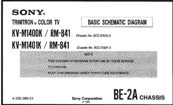 инструкция телевизор Sony Kv-m1400k - фото 10