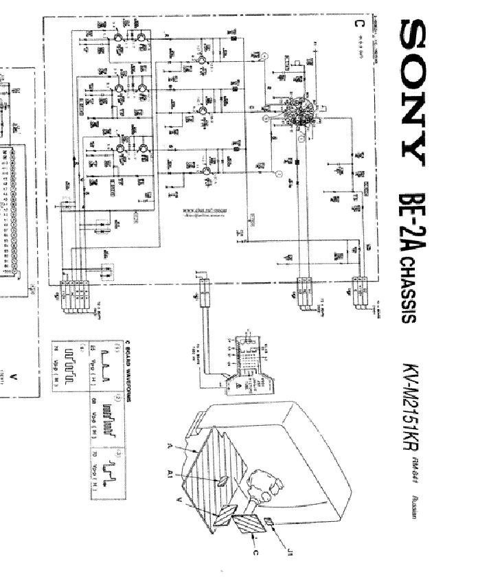 Sony kv bt212m81 схема