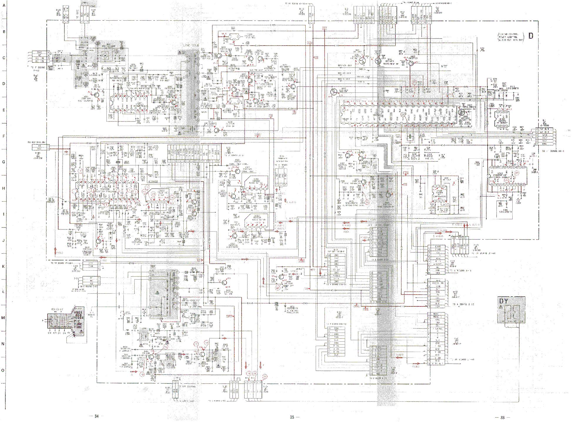 Схема телевизора sony kv-29cs60k