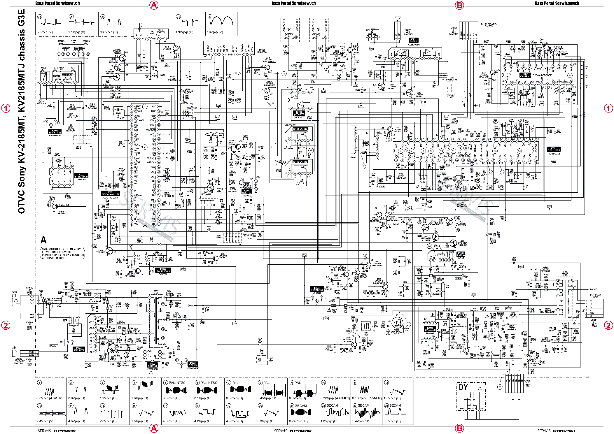 sony led tv circuit diagram free download