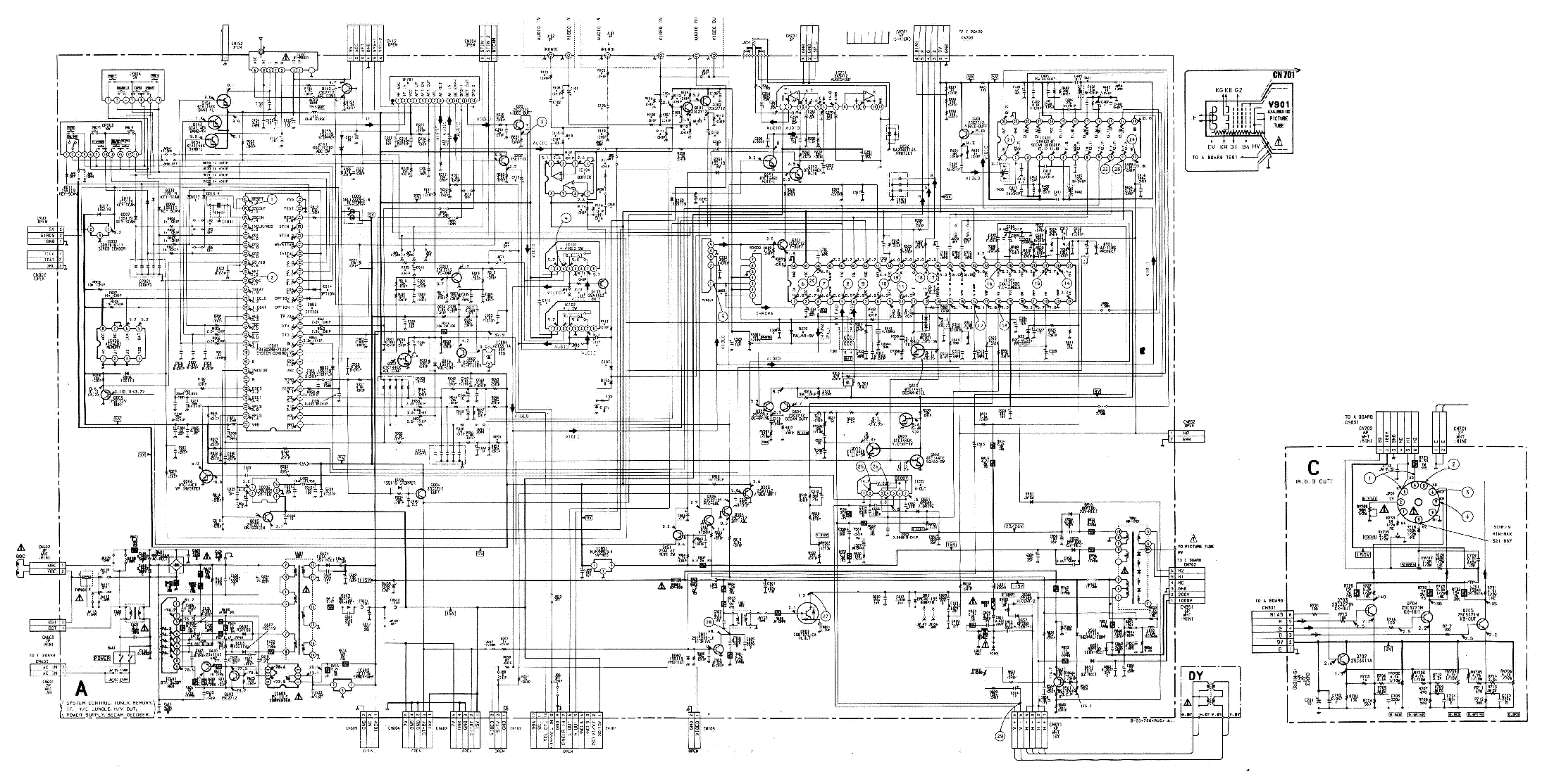 Free Sony Schematic Diagram Wiring Diagrams Vgnaw Series Schematics And Block Trinitron Kv 1487mt 21bmr1 Chassis Scc F21j Ngx40gt1 Power Supply