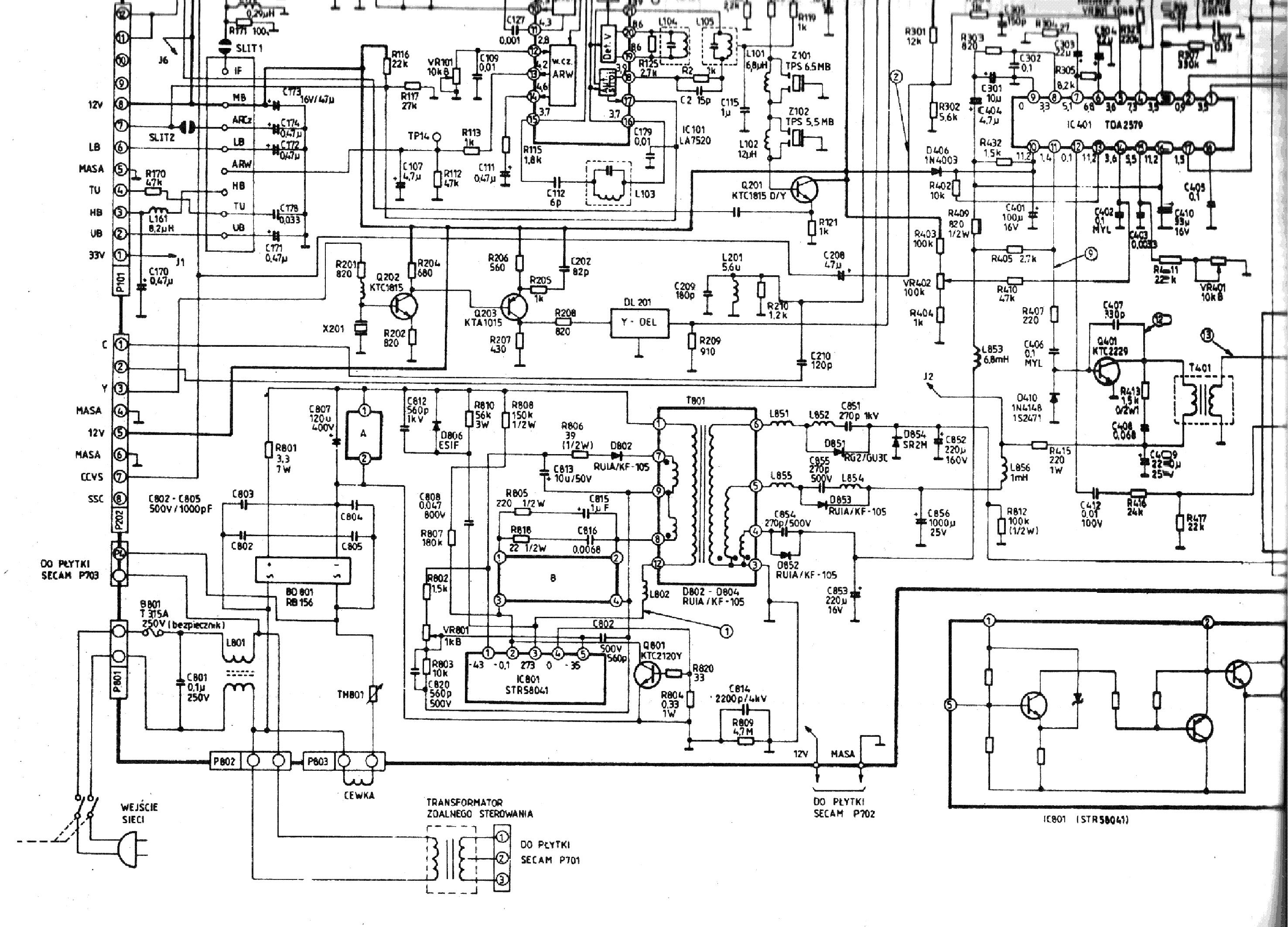 supra ctv 21002 схема скачать